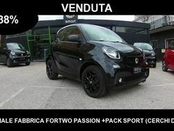 SMART FORTWO 1000 70-32%PASSION+KM.7.612+PACK LED+PACK COMFORT+